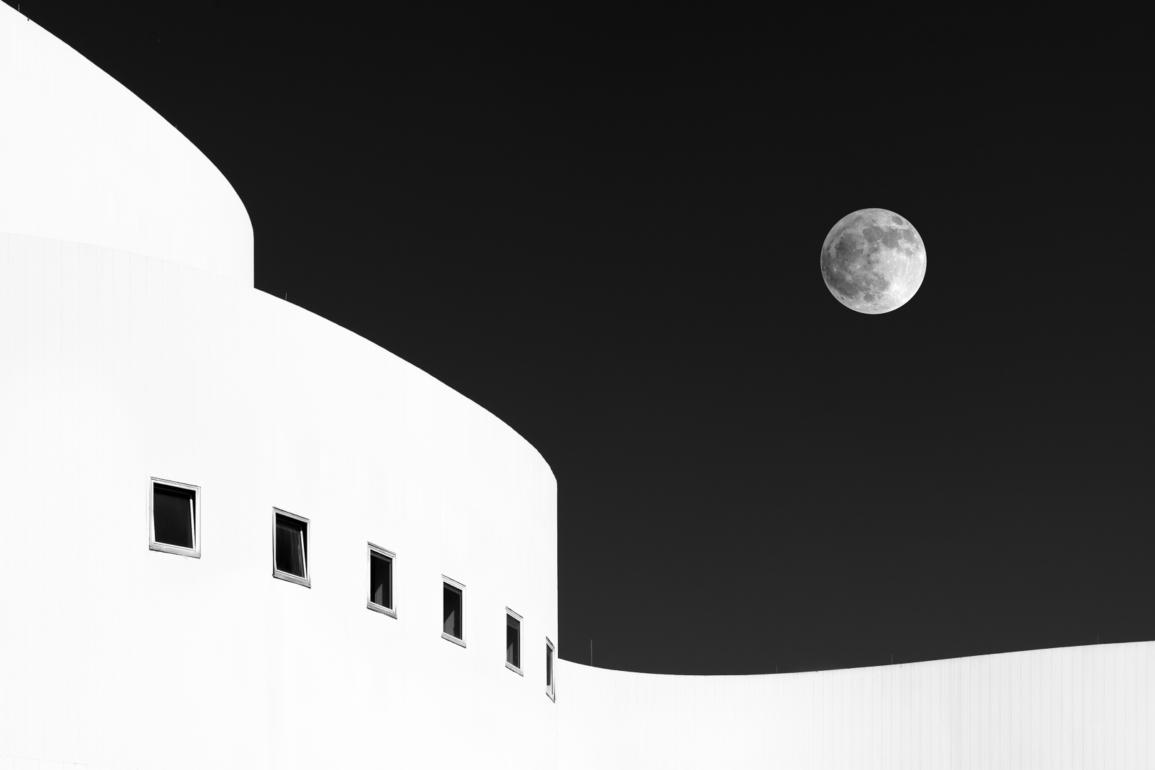 Six Windows and a Moon